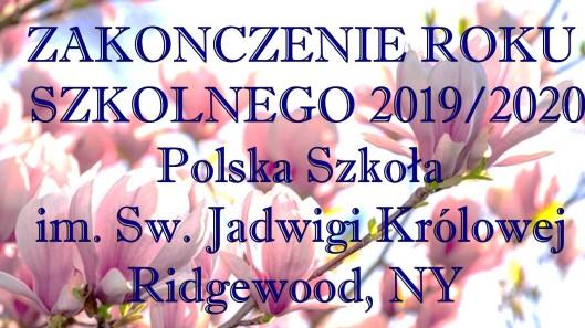 ROK SZKOLNY 2019-2020